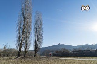 Superga dal Parco del Meisino, Torino