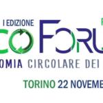 A TORINO L'ECOFORUM SULL'ECONOMIA CIRCOLARE PIEMONTESE