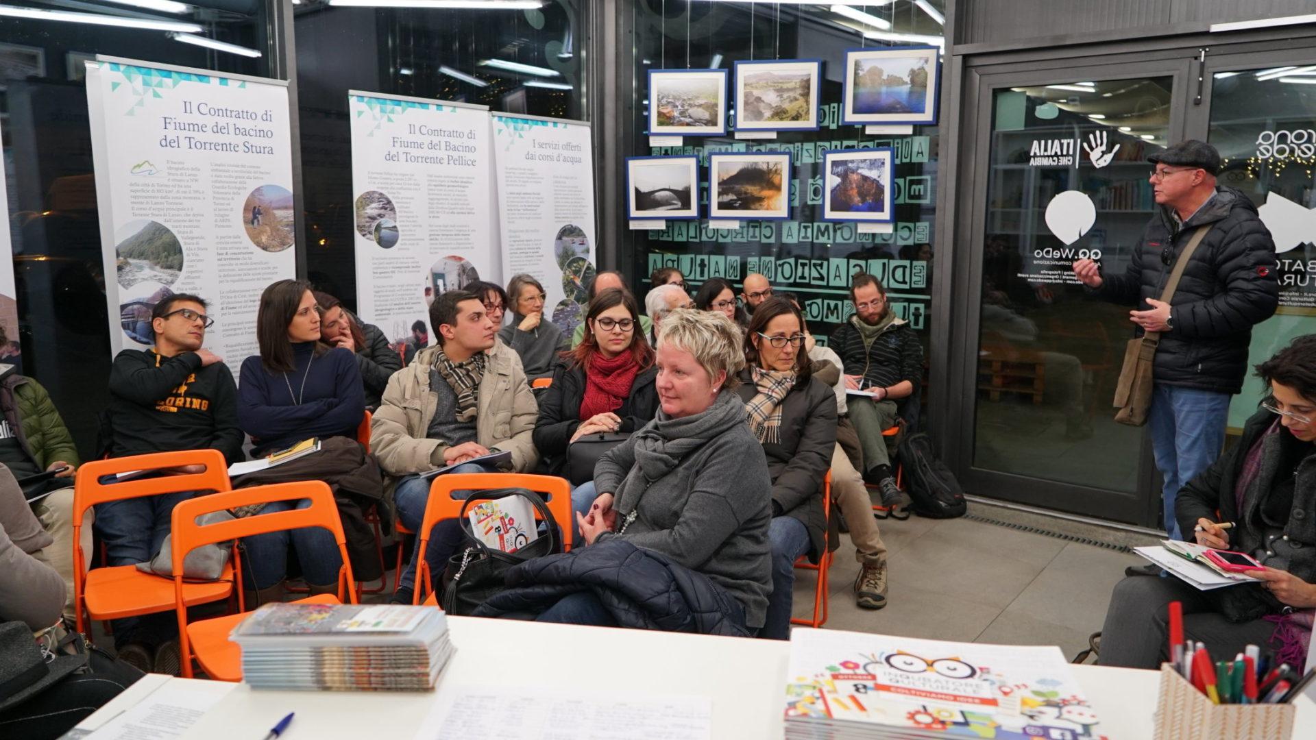 Festival sostenibilità incontro partecipanti